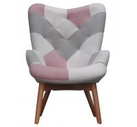 Patchwork Accent Chair