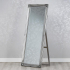 Chateaux Free Standing Cheval Mirror Silver