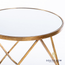 Harriet s/2 loop side tables ant gold