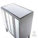 Jade 2 Door Mirrored Glass Cabinet
