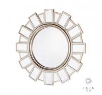 Gemma Modern Daisy Champagne Mirror