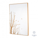 Mirror Art Forest Silhouette Gold(set of 2)