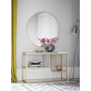 Hudson Living Pippard Console Table - Champagne