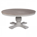 Sofia 1.6m Round Dining Table Hardwick/Rustic Brown