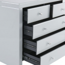 Hollywood 2 Over 3 Chest of Drawers - White