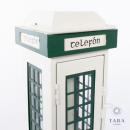 Classic Irish Telefon Box Lantern 25cm