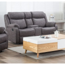 Sapphire 2 Seater Recliner Sofa with Drinks Console