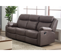 Sapphire 3 Seater Recliner Sofa with Drop Down Tray