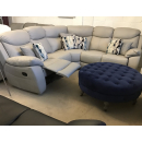 Storm Leather Recliner Sofa