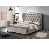 Tufted Fabric Bed Frame (King Size)