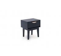 Moonlight Blue 1 Drawer Bedside Table