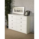 Lexington 8 Drawer Wide Chest of Drawers