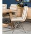 Bentley Swivel Chair - Brushed Steel Leg
