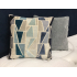 Two - Tone Provence Miami Blue Print Scatter Cushion
