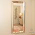Leaner Mirror Antique Clear