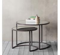 Argyle Nest of 2 Coffee Tables