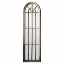 Charming Large Panelled Window Mirror