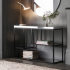 Pippard Console Table - Black