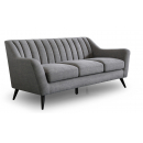 Katie Grey Fabric 2.5 Seater Sofa