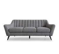 Katie Grey Fabric 2 Seater Sofa