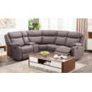 Sapphire Reclining Corner Sofa with Drinks Console