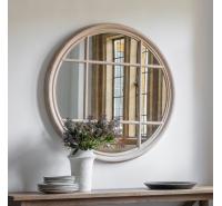 Round Clay Mirror 100cm