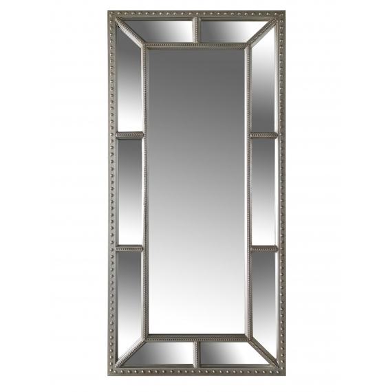 Silver Bevel Mirror – Leaner