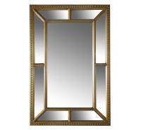Gold Bevel Wall Mirror
