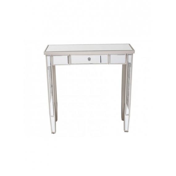 Faro Mirrored Glass Console Table 80cm